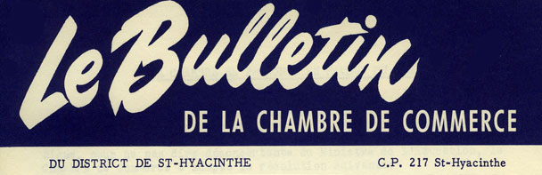 Centre d 39 histoire de saint hyacinthe centre r gional d for Chambre de commerce creteil